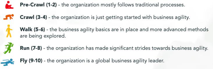 业务敏捷成熟度模型