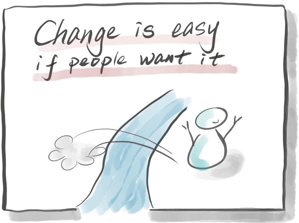 变革推动者的告白